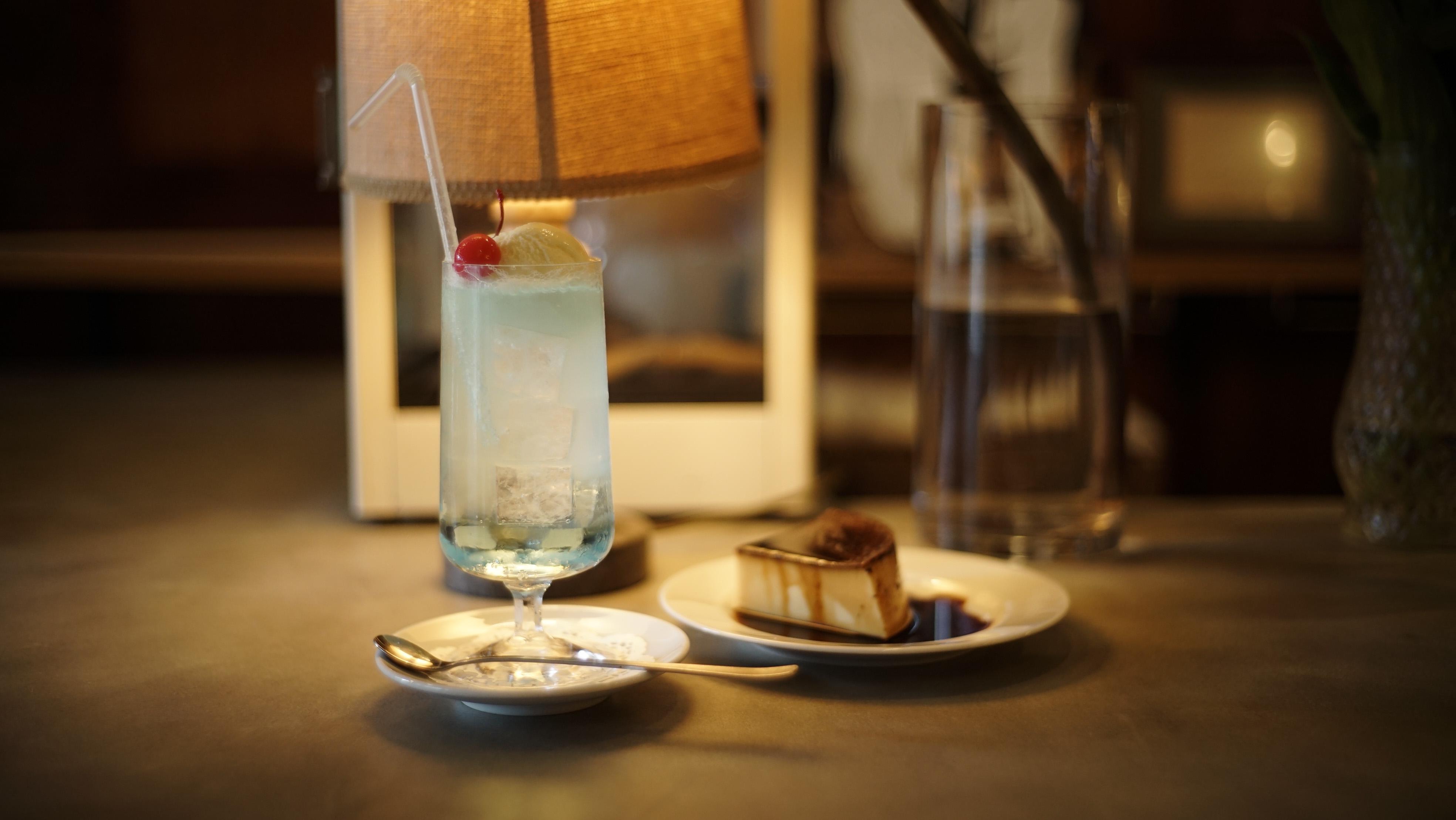 透き通る水色を. 「グランド喫茶 シヤチル」|名古屋市千種区