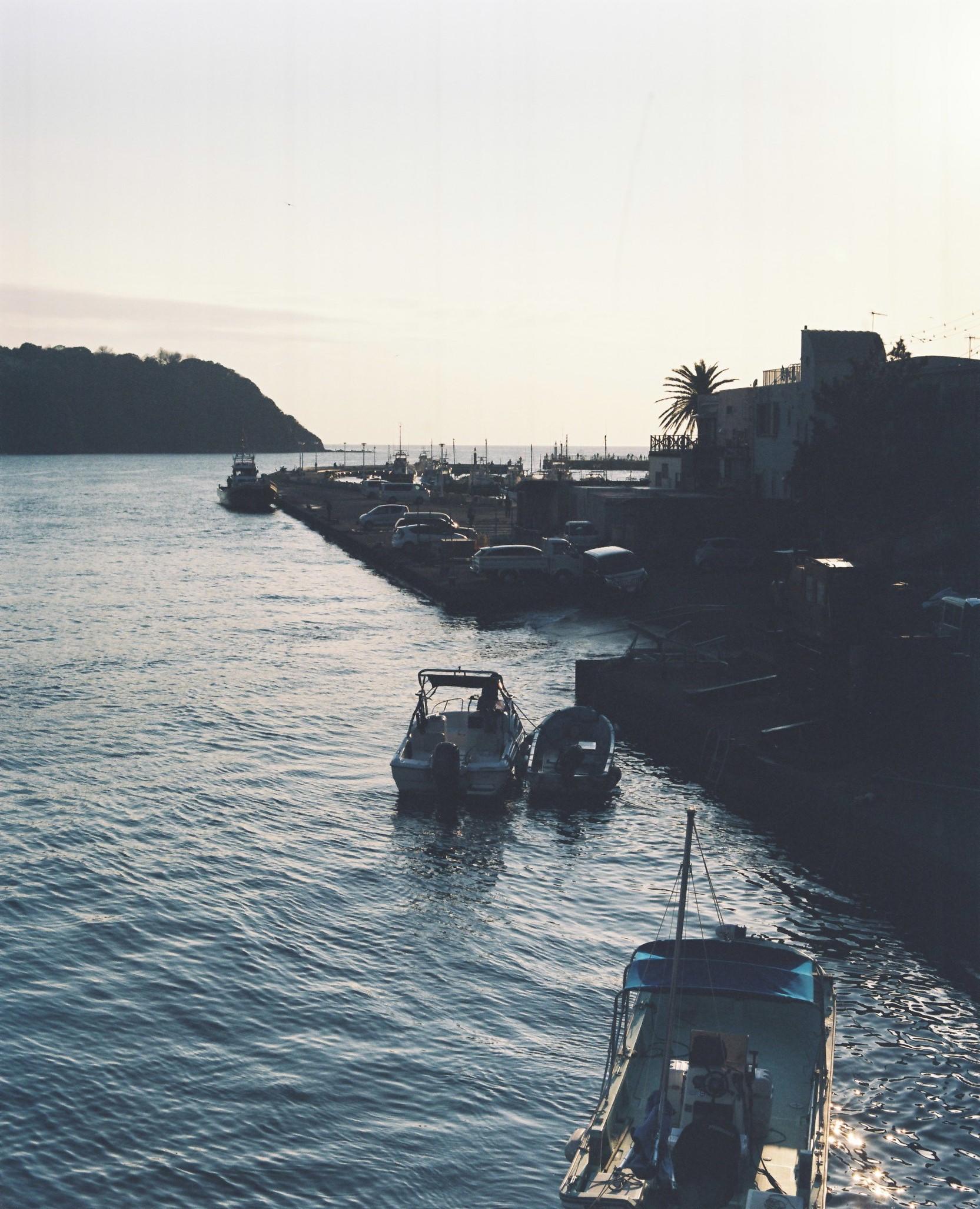 江ノ島の港