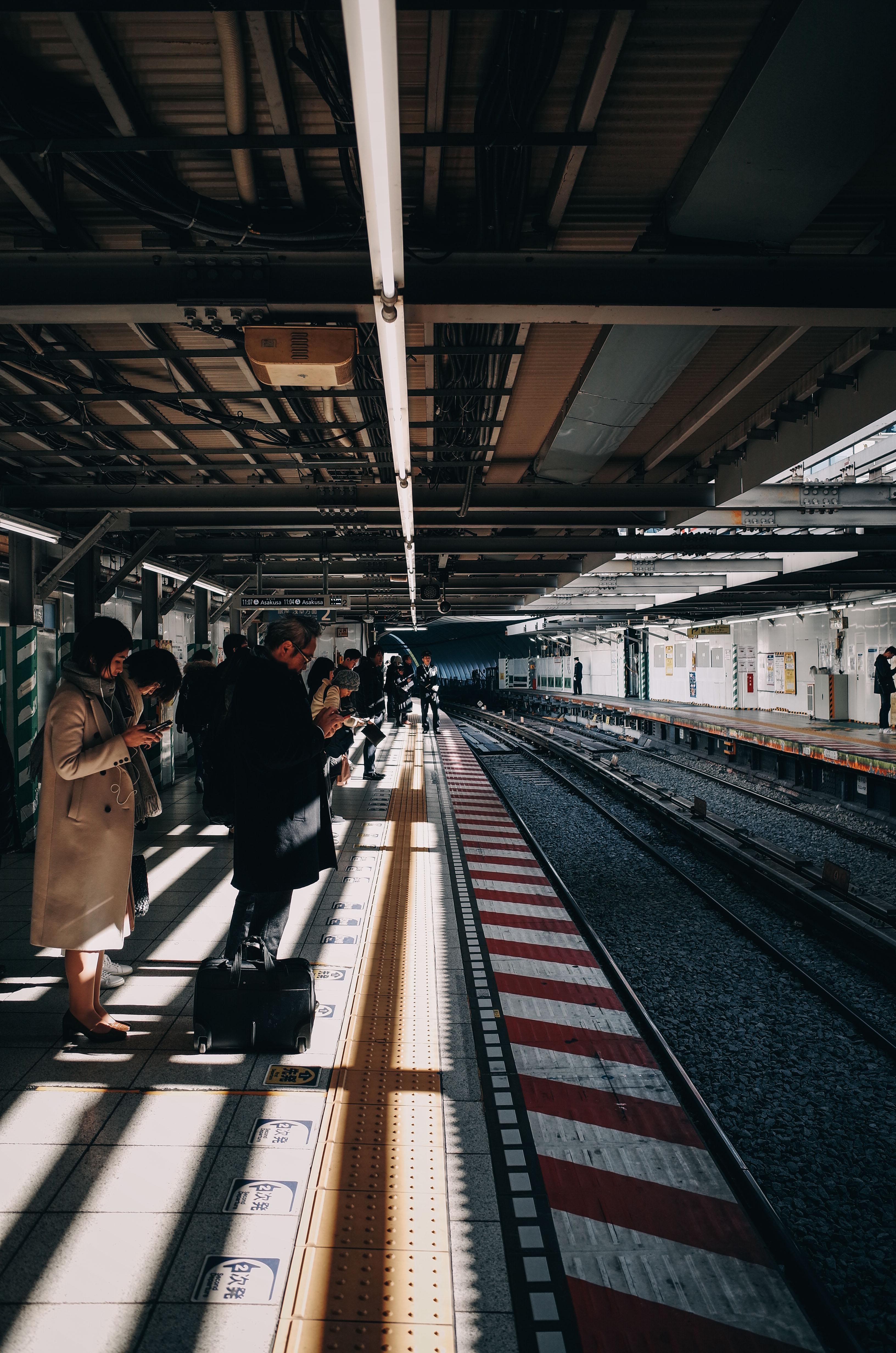 銀座線浅草駅のホーム