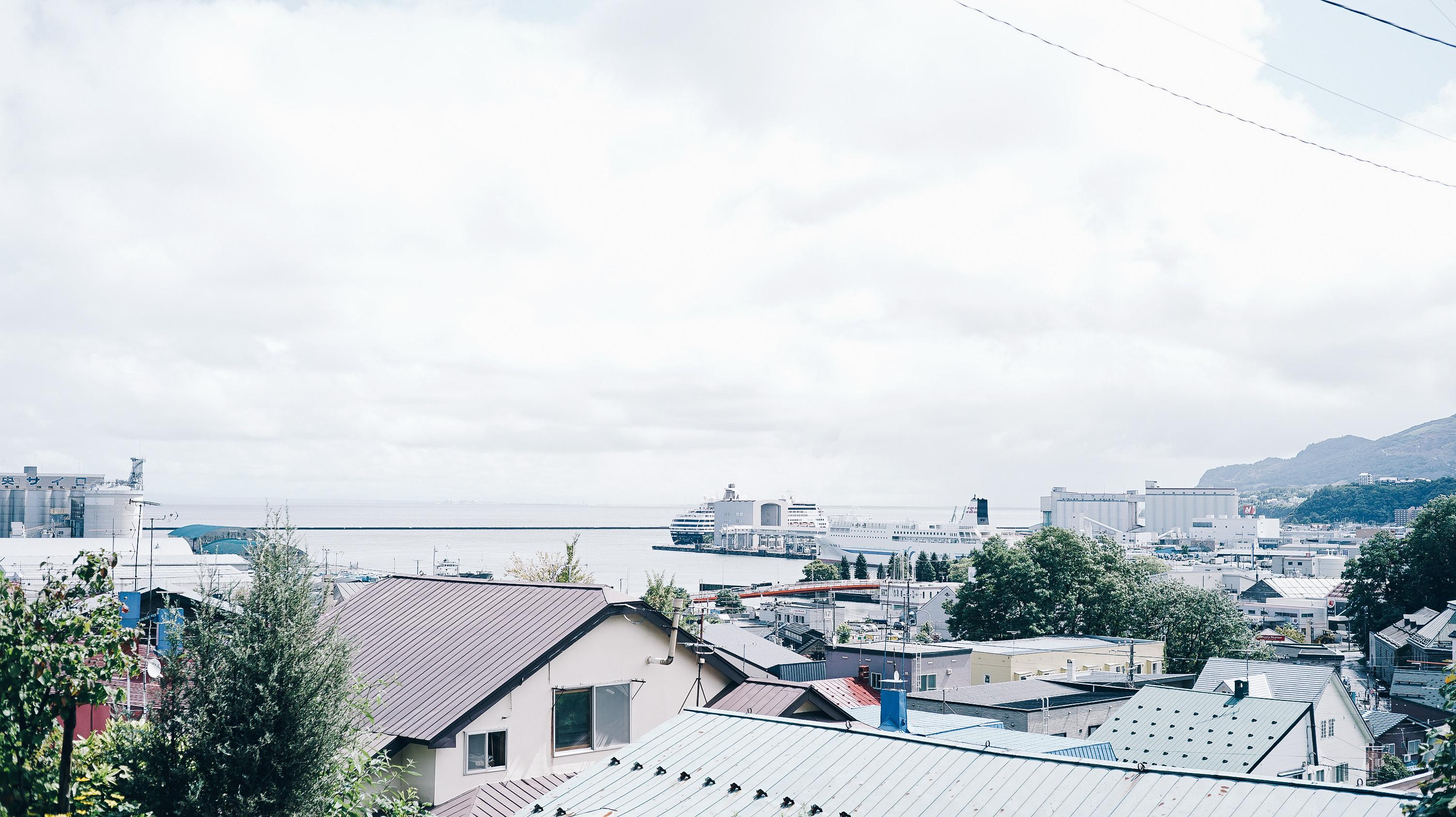 夏の北海道へ、新卒1年目の夏休み。|小樽 その1